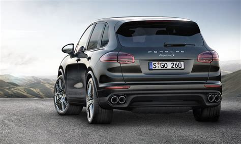 Porsche Prices 'platinum Edition' Cayenne S Models