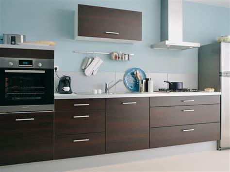 couleur mur cuisine bois cuisine moderne en bois photo 1 10 mur de couleur bleu