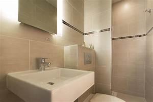 Salle De Bain Beige : salle de bain beige cti photo n 21 domozoom ~ Dailycaller-alerts.com Idées de Décoration
