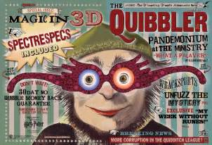 pin the quibbler harry potter prop help on