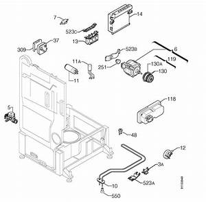 Zanussi Zt685  91184700400  Dishwasher Electrical Equipment Spare Parts Diagram