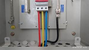 3 Phase Db Main Power Cable Termination