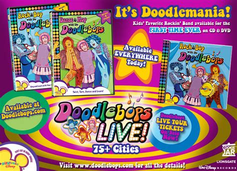 Doodlebops Dvd Menu Related Keywords
