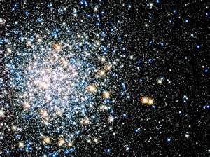 Hubble Space Galaxy Stars