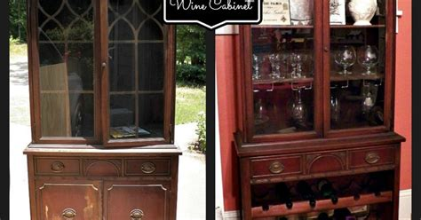 height of kitchen cabinets china cabinet turned wine cabinet hometalk 4172
