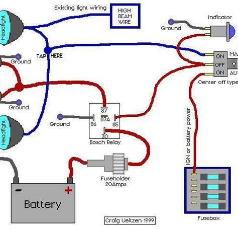Astounding Pin Relay Wiring Diagram Driving Lights Along
