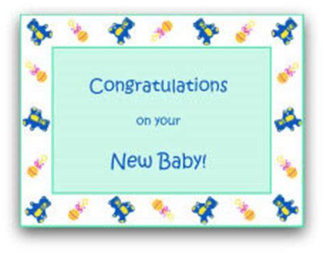 printable baby cards lots  cute designs