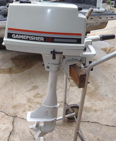 Boat Motors At Sears by Sears 7 5 Hp Gamefisher Outboard 7 5 Hp Fisher Sears