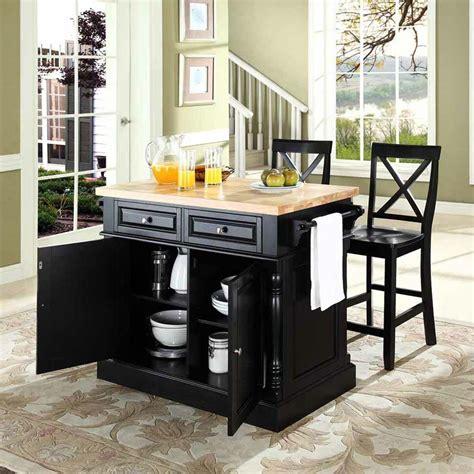 darby home  lewistown  piece kitchen island set