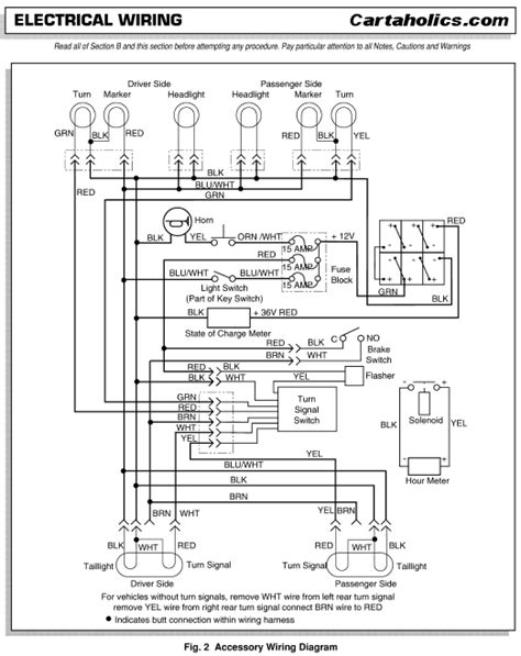 Ezgo Factory Accessories Wiring Diagram Electric