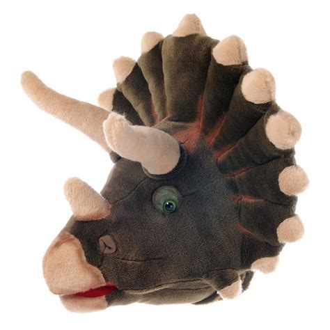 SOFT CUDDLY DINOSAUR HEAD WALL MOUNT