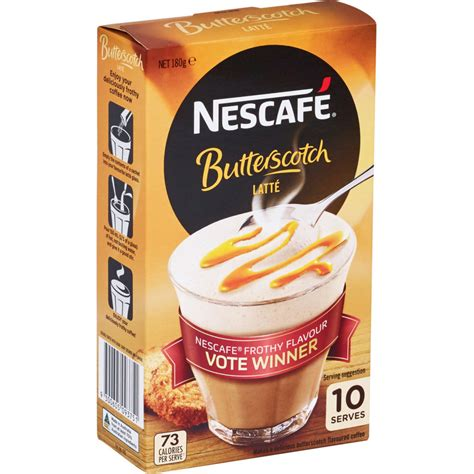 Image how to make the perfect coffee with nescafe anah may 7, 2021 no comments. Nescafe Cafe Menu Coffee Mix Butterscotch Latte 180g ...