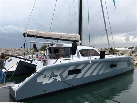Catamaran With Net by Outremer 4x Just Catamarans
