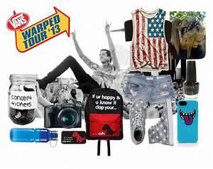 Warped Tour Outfit Polyvore Set by hpartfreak on DeviantArt