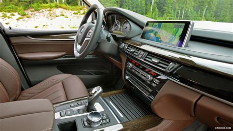bmw  xdrivei  interior hd wallpaper