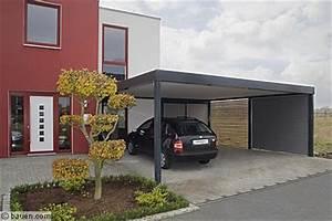 Carport Vor Garage : carports setzen stilsicher highlights ~ Lizthompson.info Haus und Dekorationen