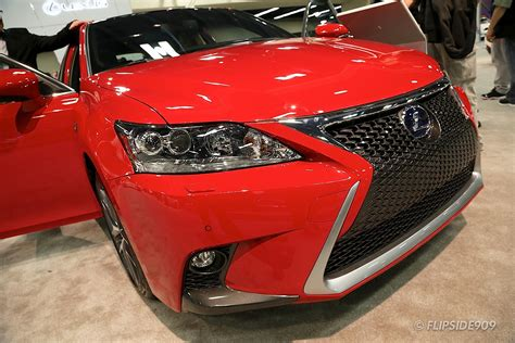 This Is The 2018 Lexus Ct 200h In New Redline Finish