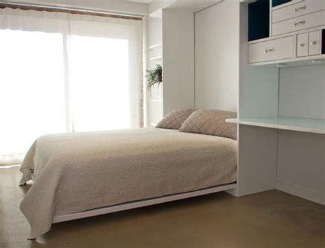 fold   desk   space   bedroom murphy