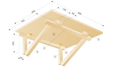 wandklapptisch selber bauen k 252 chenm 246 bel klapptisch bauen einrichten mobiliar selbst de