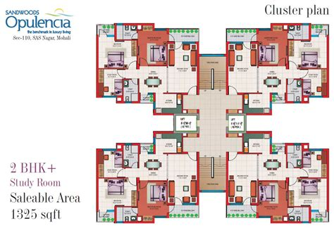 architecture floor plans floor plans 3bhk 4 bhk mohali apartments sandwoods opulencia