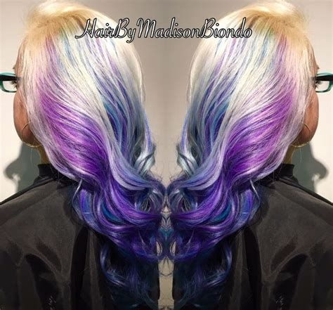blue hair  ideas   pinterest