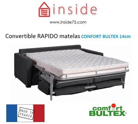 confort bultex canap canap convertible confortable pas cher fabulous canape