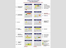DeKalb County Schools 201718 calendar