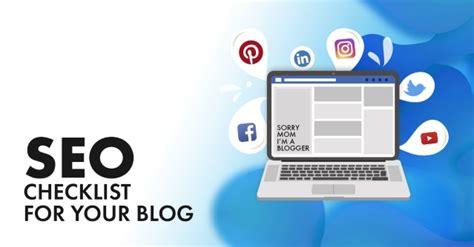 The Definitive Blog Seo Checklist How Increase