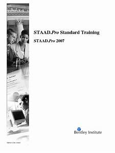 Staad Pro Manual Pdf