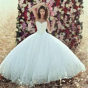 Elegant Saudi Arabic Lace Bodice Ball Gown Wedding Dresses ...