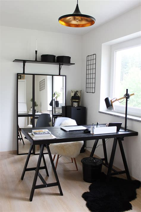 Ikea Arbeitszimmer Inspiration by Homestory Home Office Mit Ikea Voga Und Eames