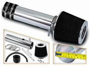 Short Ram Air Intake Kit   Black Cone Filter For 05