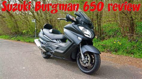 Suzuki Bergman 650 by Suzuki Burgman 650 Executive Review