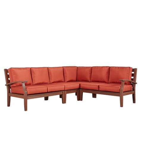 sofa springs home depot brown jordan vineyard patio sofa with meadow cushions and