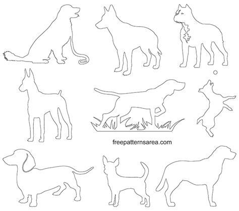 dog silhouette clip art vectors freepatternsarea dog