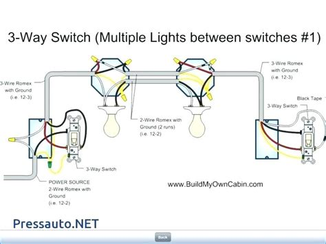 3 Light Wiring Diagram by Wiring Diagram For 3 Way Light Switch Bookingritzcarlton