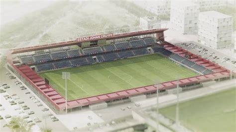 barcelona presenteert estadi johan cruyff nos