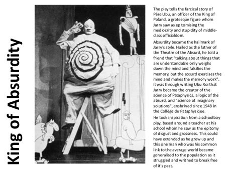 Alfred Jarry and the Ubu Plays - Historical Context