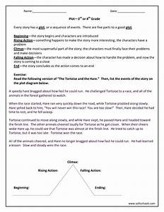 Plot  U2014 3rd Or 4th Grade Worksheet For 3rd