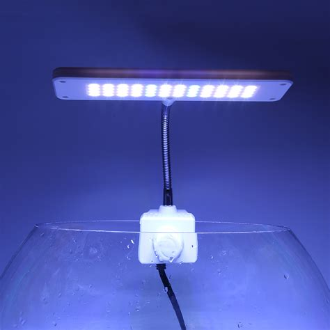 48 led aquarium light 220v 48 led aquarium light flexible arm clip fish tank