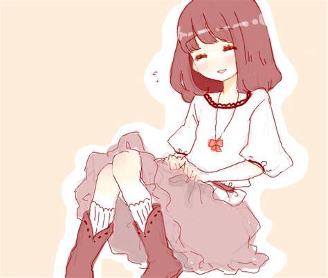 girl, short hair, anime, cute, draw   image #783953 on