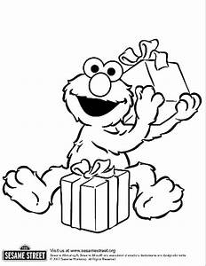 Free elmo number 2 coloring pages