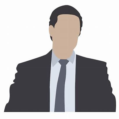 Icon Person Businessman Icons Marketer Lawyer Notary