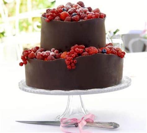 orange berry wedding cake recipe bbc good food