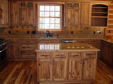 rustic wood kitchen cabinets rustic hickory kitchen cabinets solid wood kitchen