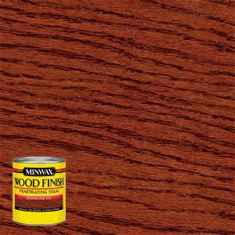 Minwax 8 oz. Wood Finish Sedona Red Oil Based Interior