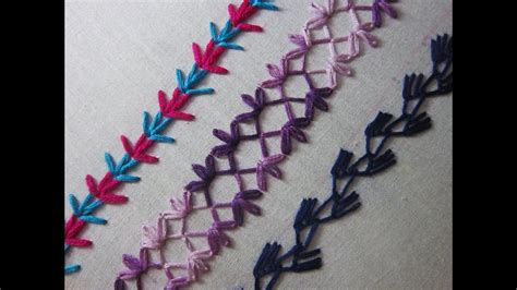 hand embroidery designs basic embroidery stitches part