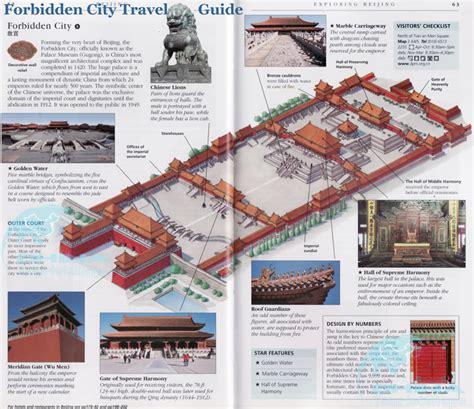 Forbidden City Maps, Map of Forbidden City Beijing