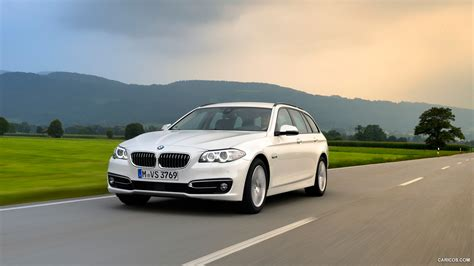 Bmw 5 Series Touring Wallpaper by 2015 Bmw 5 Series 520d Touring Front Hd Wallpaper 3