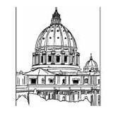 Basilica Clipart Peters Peter St Saint Sophia Hagia Coloring Lesson Plan Michelangelo Clipground Teacherspayteachers Sold Section Plans sketch template